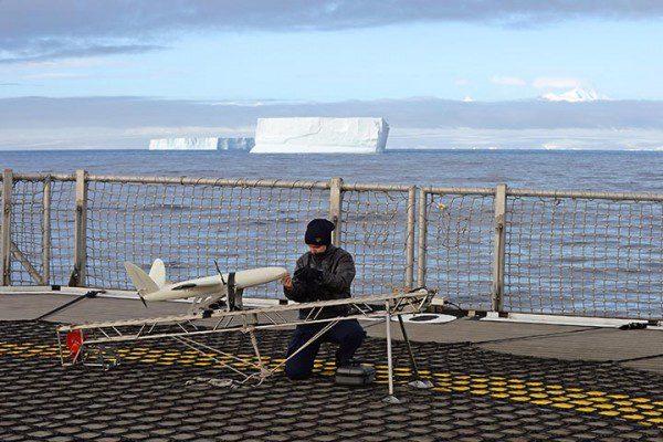 Royal Navy Uses Pilotless Aircraft to Navigate Through Ice