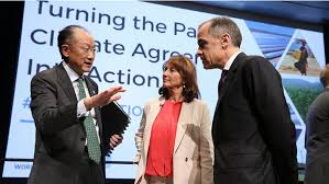 World Bank Group, International Partners Launch Six Principles for Dialogue on Climate Action