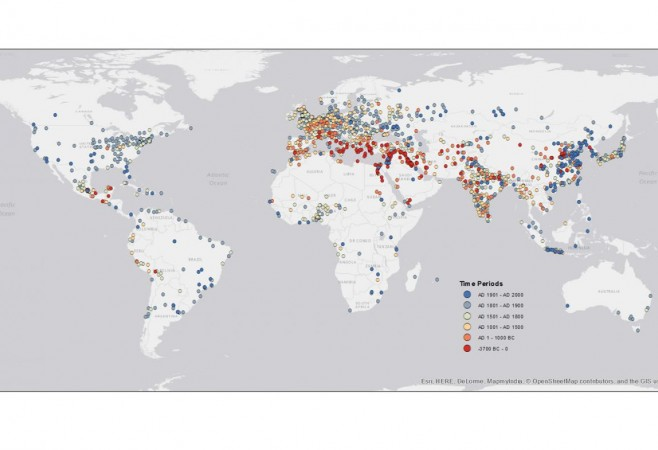 Yale Researchers Map 6,000 Years of Urban Settlements