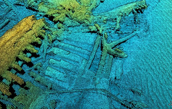 Underwater Laser Scanner Maps Sea Beds, Finds Shipwrecks