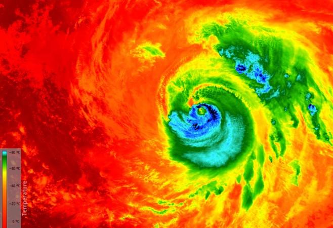Variety of Sensors Tracked Hurricane Matthew