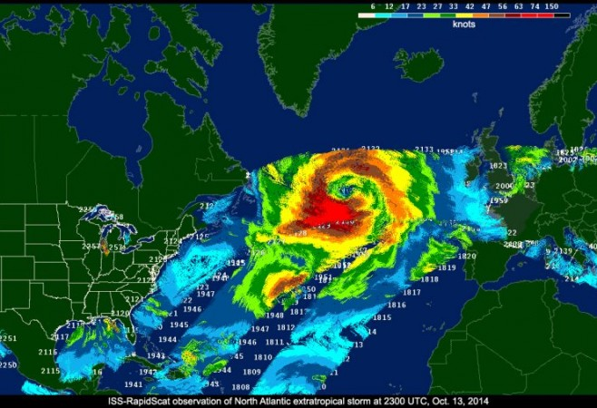 RapidScat Mission to Monitor Ocean Winds Ends