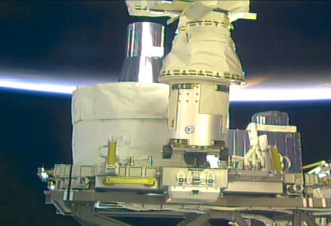 SAGE III Installed on International Space Station