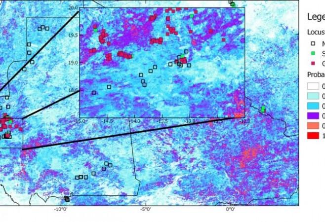 Satellites Predicting Locust Plagues