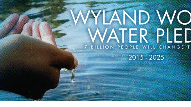 Wyland World Water Pledge to Inspire 7.5 Billion people For Sustainable Use of Global Water Resources