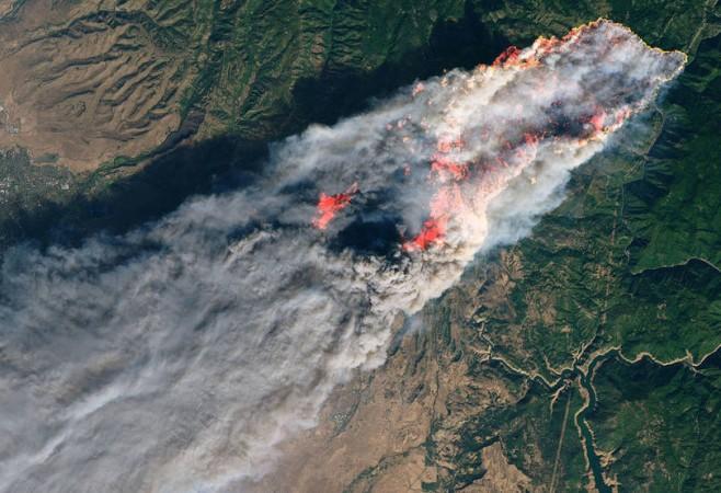 NASA Mobilizes to Aid California Fires Response