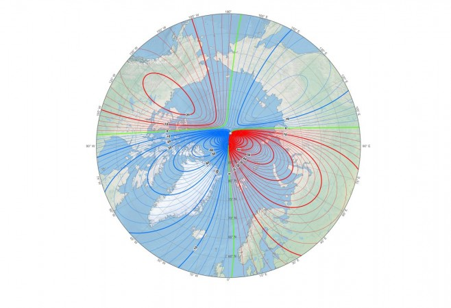 Scientists Update World Magnetic Model