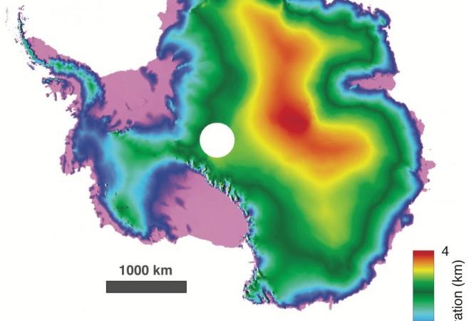 Antarctica Detailed in 3D