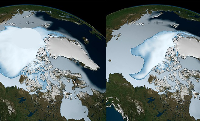 Loss of Arctic's Reflective Sea Ice Will Advance Global Warming by 25 Years