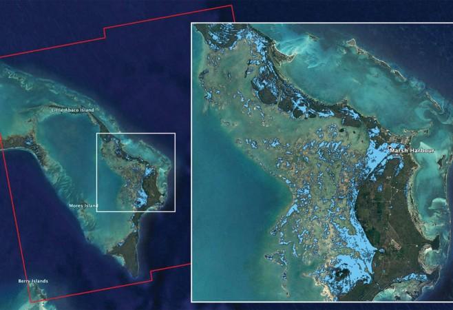 NASA's ARIA Team Maps Flooding in Bahamas
