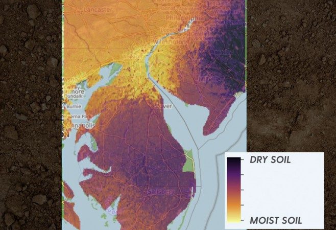 Mapping Soil Moisture In High Definition