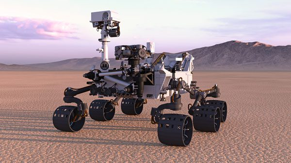 NASA's Mars Rover Perseverance Relies on Imaging Sensors