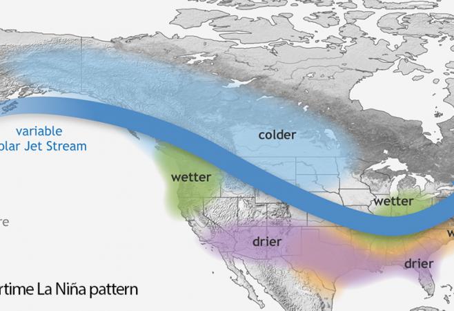 La Niña Develops During Peak Hurricane Season