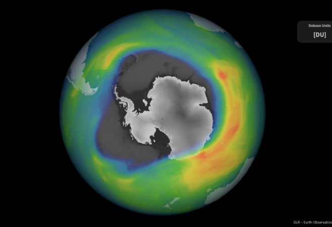 Antarctic Ozone Hole Is One of the Largest And Deepest in Recent Years