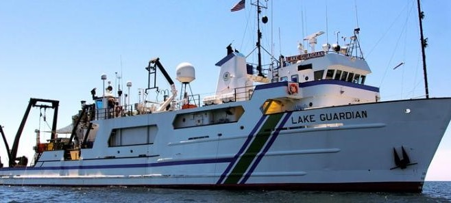 EPA's Floating Laboratory Lake Guardian Sails Again