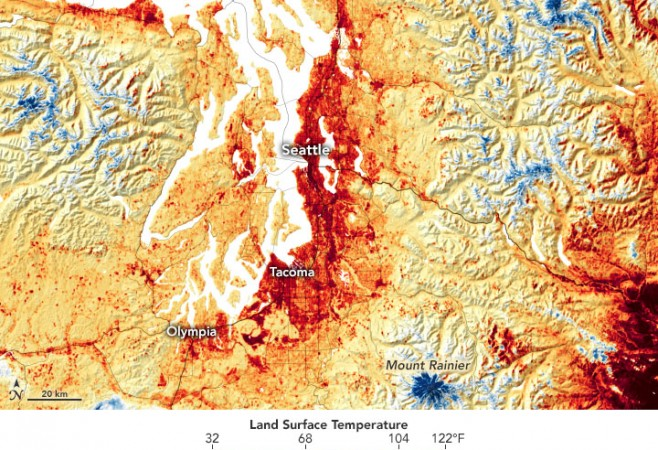 Exceptional Heat Hits Pacific Northwest