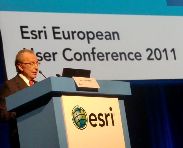 Juan Soto, Chairman of Esri Spain