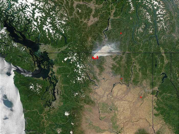 MODIS WashingtonState