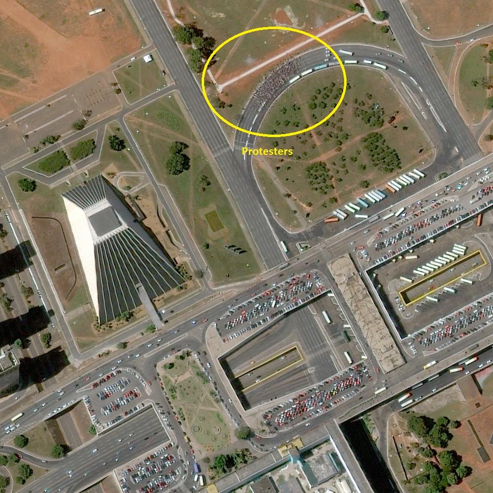 Protests Brasilia BR WV2 2013JUN15
