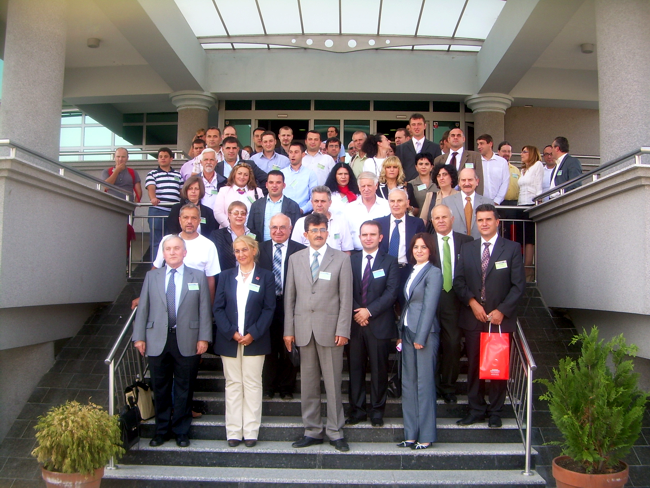 Participants in the International Conference SDI 2010 - Skopje
